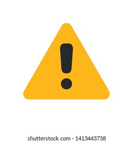 warning icon symbol sign, vector, eps 10