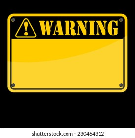 WARNING, SIGN