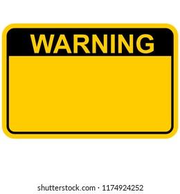 warning, sign vector