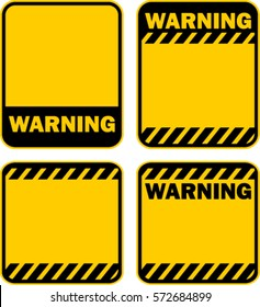 warning, sign, vector