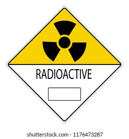 warning signs; Radiation Hazard