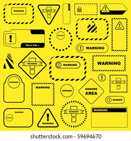 image about Free Printable Candle Warning Labels named Caution Label Pictures, Inventory Pics Vectors Shutterstock