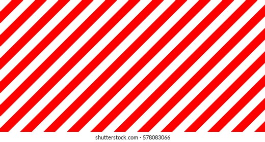 warning striped rectangular background, red and white stripes diagonally sign showing the size of the load, vector