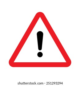 Warning vector sign