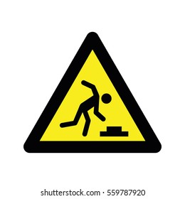 Warnings sign icon
