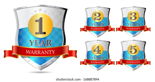 Warranty - 1, 2, 3, 4, 5 years