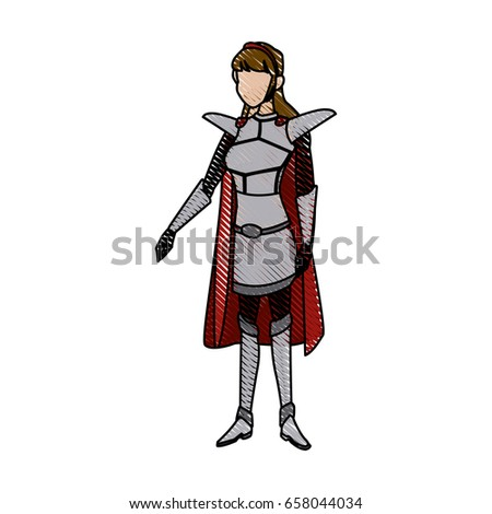 warrior princess armor cape costume halloween