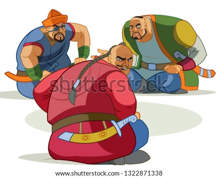 Warrior robbers strong pirates