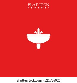 Washbasin icon.