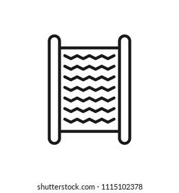 washboard vector icon