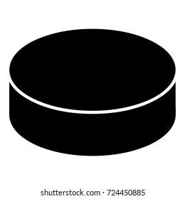 Washer hockey icon. Simple illustration of washer hockey vector icon for web