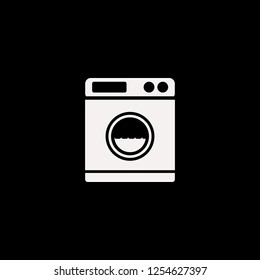 washer vector icon. flat washer design. washer illustration for graphic