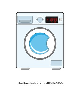 how to clean white towels front loading machine