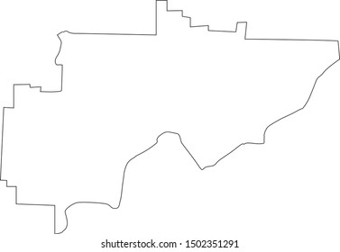 Washington county map in ohio state
