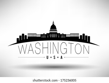 Washington DC Skyline Design