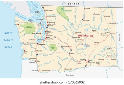 Washington Coast Stock Vectors, Images & Vector Art ...