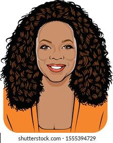Washington, US - 11/10/2019: Oprah Winfrey