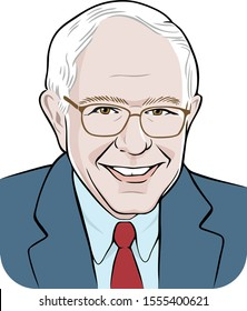 Washington, USA - 11/1-/2019: Senator Bernie Sanders