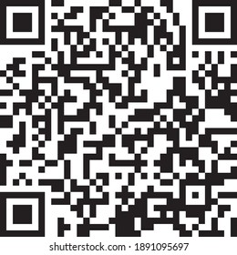 Washington's Birthday  Presidents Day qr code  holiday is coming