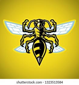 wasp hornet mascot
