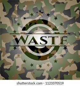 Waste camo emblem
