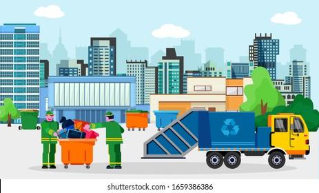 Dustcart Images, Stock Photos & Vectors | Shutterstock