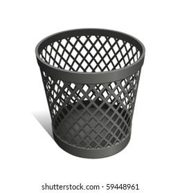 Wastepaper Basket black
