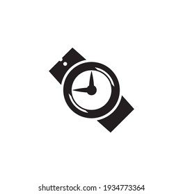 watch icon isolated on white background from calendar and date collection.