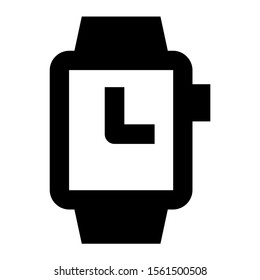 watch icon isolated sign symbol vector illustration - high quality black style vector icons