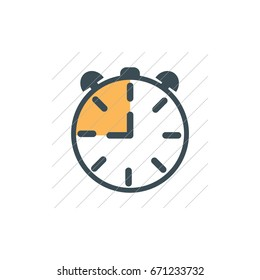 Watch Icon Vector. can be used for web and mobile design