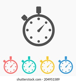 Watch icon ,Vector illustration