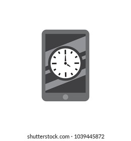 Watch Mobile Logo icon Design