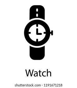 A watch with time fixer characterizing hand watch