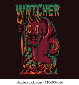 The Watcher Illustration