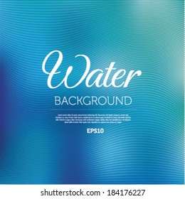 Water blurred background