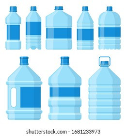 Water bottle vector design illustration isolated on white background