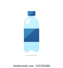Water bottle vector isolated