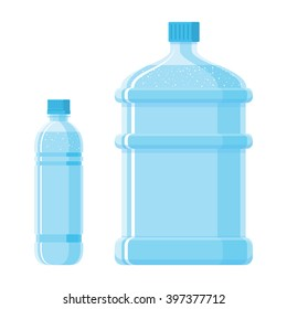 water, bottles, vector, container, receptacle
