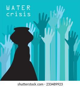 water crisis, save water saver world