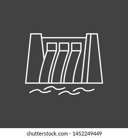 Water Dam icon for your project