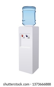 water dispenser vector illustraion