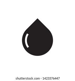 water drop icon symbol sign, logo template, vector, eps 10