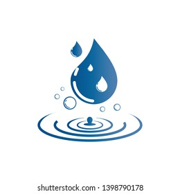 water drop Logo. water droplet icon. illustration element vector