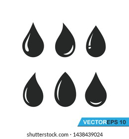 water droplets icon. vector. design illustration,