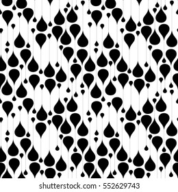 Water drops background. Seamless pattern. Vector.