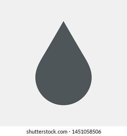 Water drops  droplet raindrops icon illustration cut