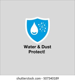 water and dust protect