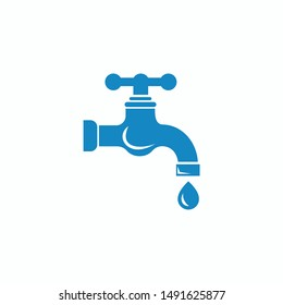 Water faucet icon vector illustration