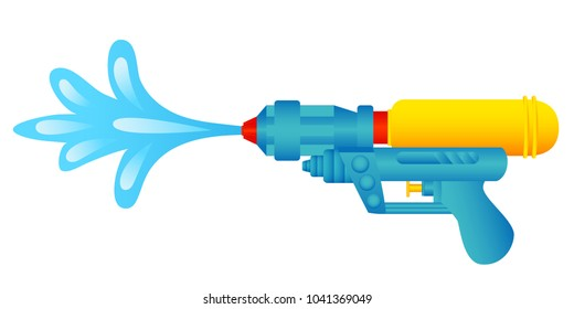 water gun graphic vector