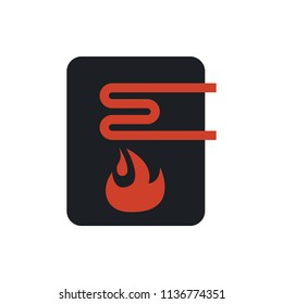 water heater vector icon